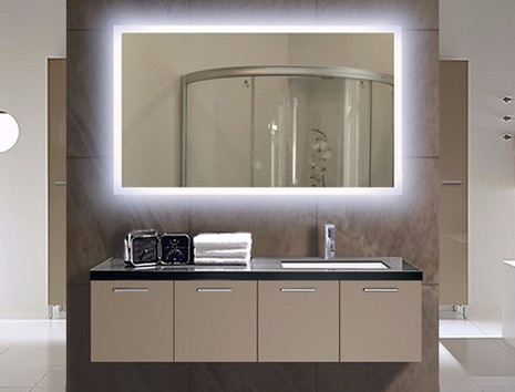 Lighted Bath Mirrors Illuminated Bathroom Mirror