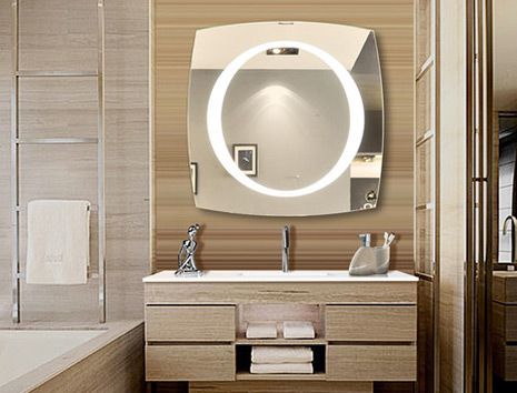 get illuminated mirror or light wall mirror from IB Mirror